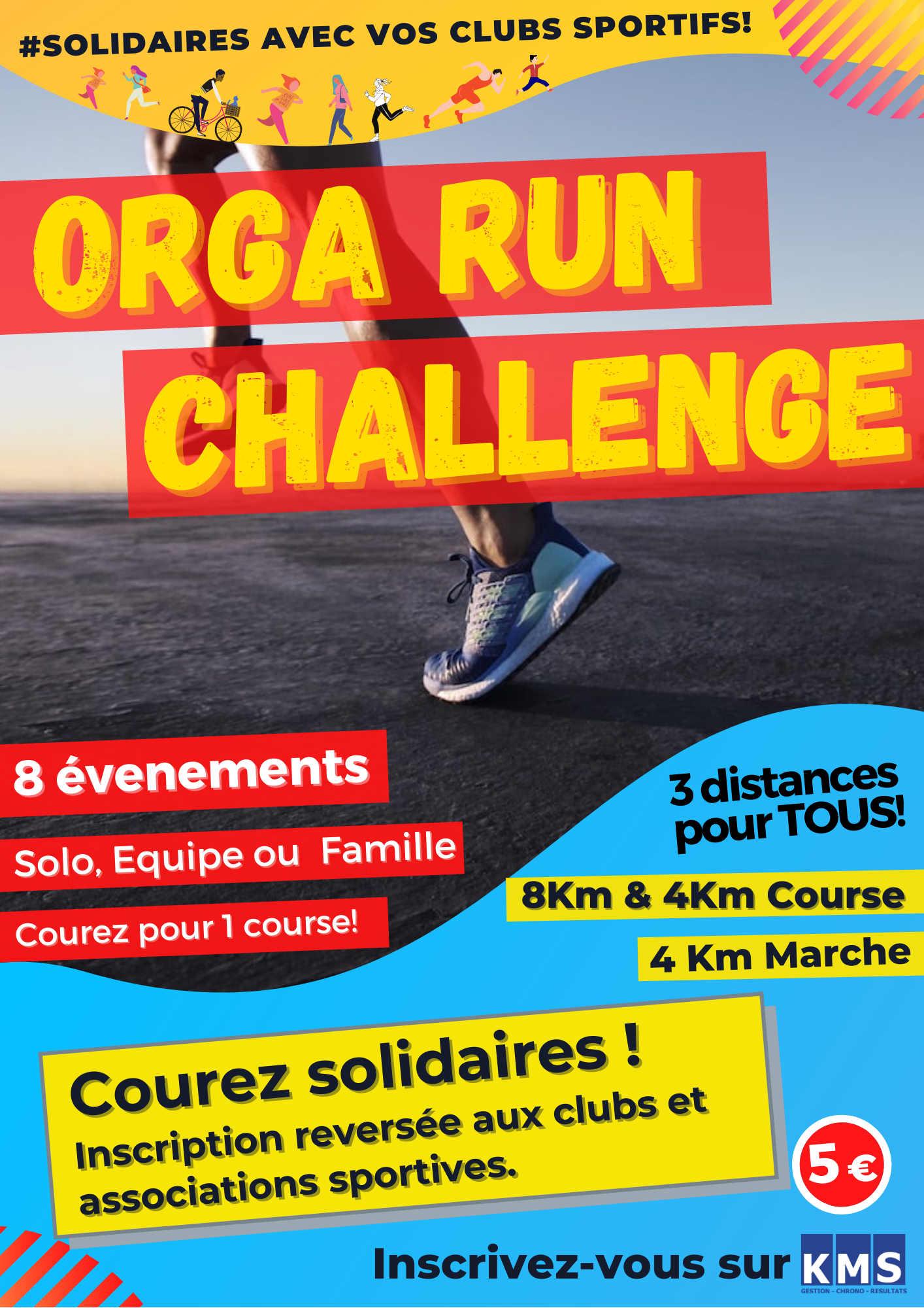 Affiche ORGA-RUN-Challenge